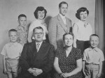 With my parents and siblings when I was about eighteen.