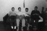 My roommates at the University of Michigan, 1950.