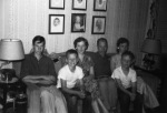 Jim, Jerry, Sally, me, Carolyn and Pete in the summer of 1954.