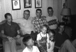 With my father, brothers and other relatives in the summer of 1954.