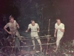 Survival training in Panama, 1967.