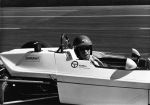 Driving Paul Newman's Formula Ford in Riverside, California, around 1970.
