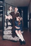 With my daughters Alison and Merrill in my space-age Houston apartment, 1970.
