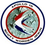 The Apollo 15 mission patch final design.