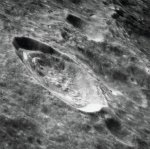 The magnificent lunar surface from orbit.